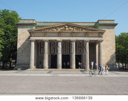 Neue Wache (new Guardhouse) In Berlin