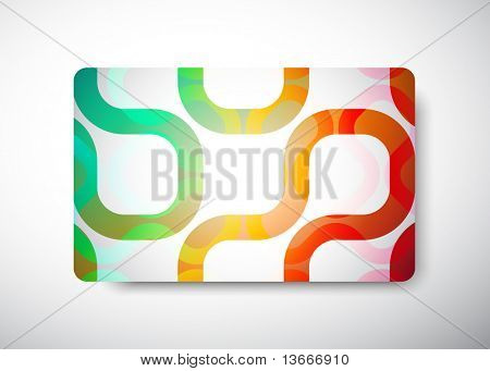 "gift card - size 3 3/8"" x 2 1/8""  (86 x 54 mm)"