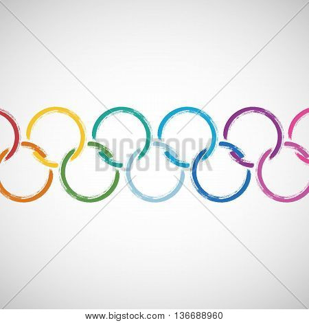 Symbolic Rings Abstract Background