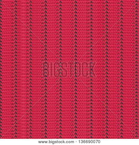 surface of the red nylon rope for the design pattern texture background.