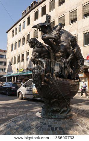 Nurnberg, Bavaria / Germany - July 17th 2014: