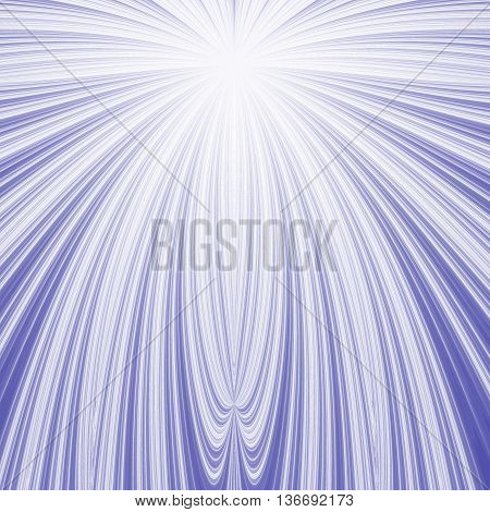 Blue and white fractal pattern background or texture