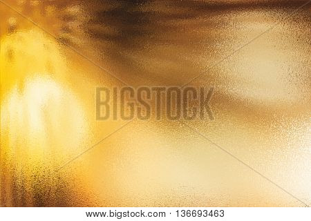 Abstract background of yellow or golden texture