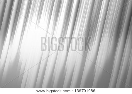 Gray and white lines used to create abstract background