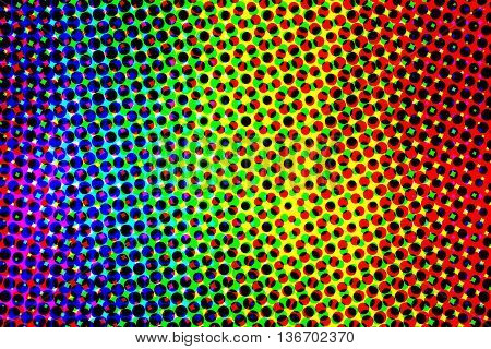 Purple blue green yellow orange and red used to gay pride rainbow background.