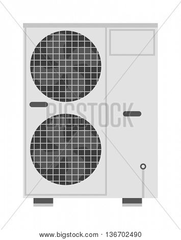 Air conditioning vector illustration.