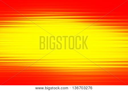 Red and yellow blend to create abstract background
