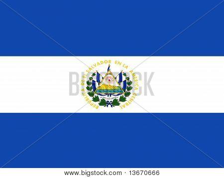 El Salvador National Flag