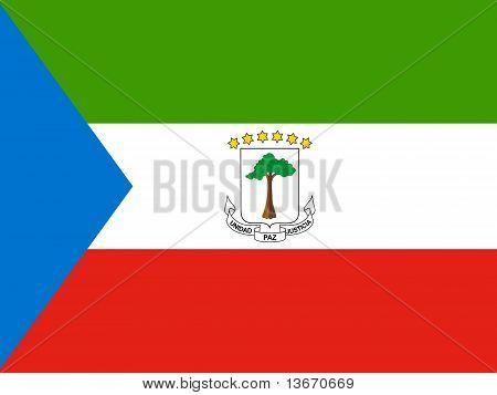Equitorial Guinea National Flag