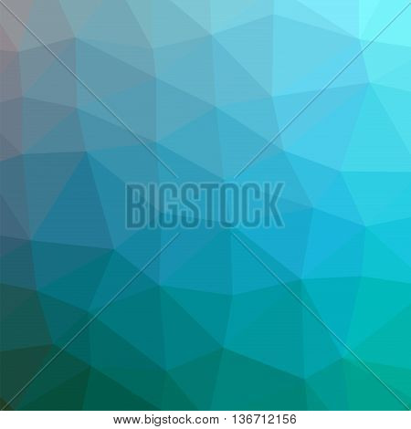 The background triangles. Abstract geometric background with polygons. Background triangulation. Color blue-marine