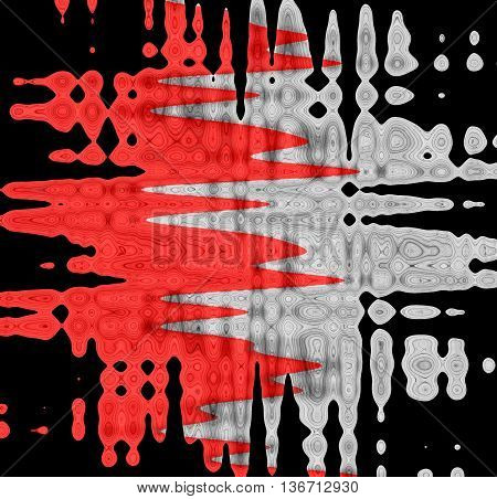 Abstract black and red background with white