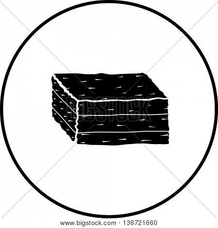 baled hay symbol