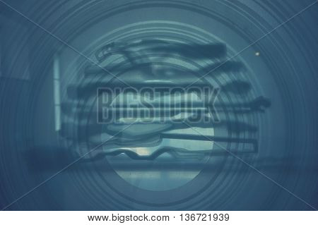 glass suitable as a background or abstract in industrial area