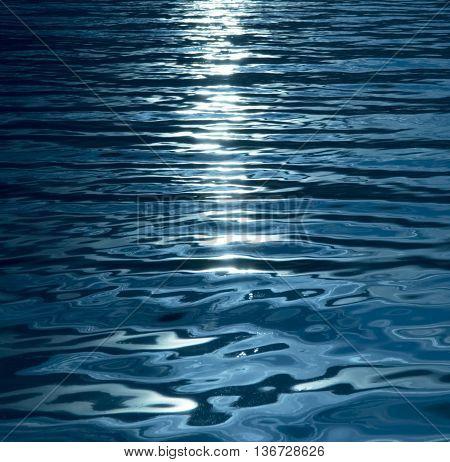 Blue, turquoise, wavy, vibrant, shiny,  water background