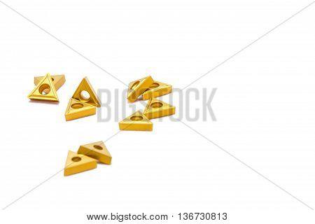 Broken Golden Lathe Tools