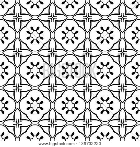 Decorative Geometric Stars Celtic Tribal Leaf Leaves Floral Flower Damask Swirls Calligraphy Repeating Seamless Vector Pattern Background Design