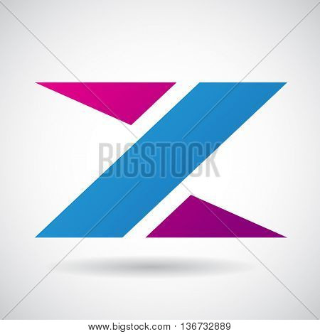 Design Concept of a Colorful Stock Logo Icon of Letter Z, Vector Illustration