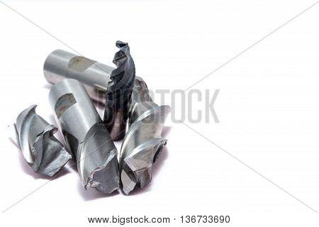 Broken Metal Mill Tools