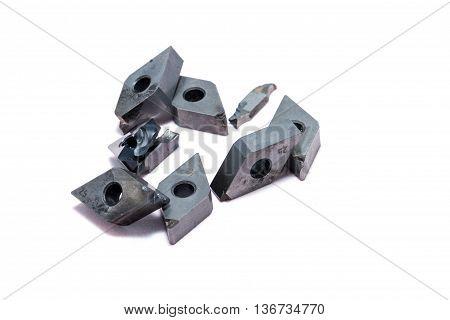 Broken Metal Lathe Tools And Mill Tools