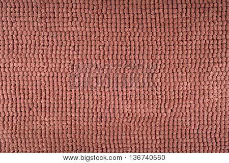 Close - up Brown doormat texture background