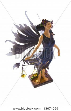Zodiac Libra fairy with scales