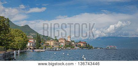 Beautiful Village Gardone At Garda Lake