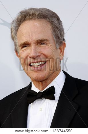 Warren Beatty at the 36th AFI Life Achievement Award held at the Kodak Theater in Hollywood, USA on June 12, 2008.