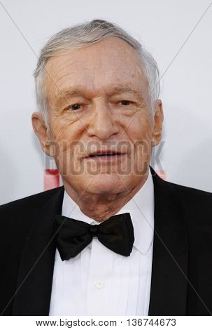 Hugh Hefner at the 36th AFI Life Achievement Award held at the Kodak Theater in Hollywood, USA on June 12, 2008.