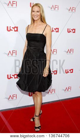 Kelly Lynch at the 36th AFI Life Achievement Award held at the Kodak Theater in Hollywood, USA on June 12, 2008.