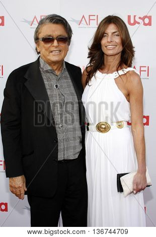 Robert Evans at the 36th AFI Life Achievement Award held at the Kodak Theater in Hollywood, USA on June 12, 2008.