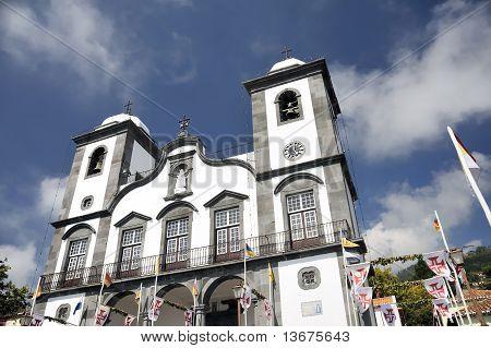Nossa Senhora de Monte church Monte Madeira Portugal