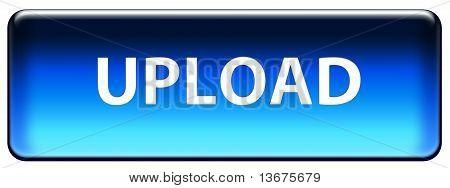 Blue Upload Button