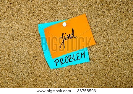 Find Problem Written On Paper Notes
