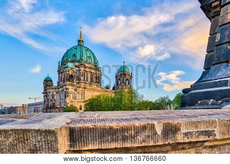 Berlin Cathedral (berliner Dom) In Berlin, Germany