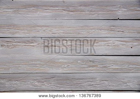 Colored Wooden facing surface as design element