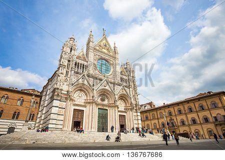 Duomo Of Siena In Siena, Italy