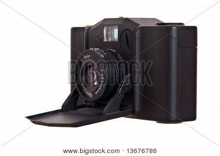 Vintage folding russian camera 135mm
