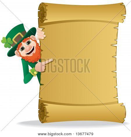 Leprechaun Scroll