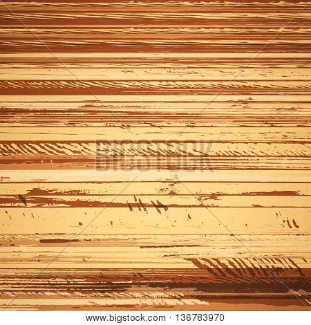 Traced brown wood grain abstract baclkground vector illustration eps10
