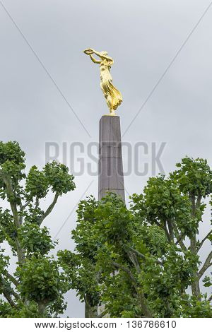 Luxembourg City - Luxembourg - July 01, 2016: Great War Memorial In Luxembourg