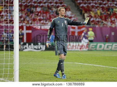 Uefa Euro 2012 Game Germany Vs Denmark