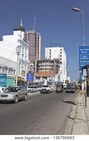 Mombasa Business District, Kenya, Editorial