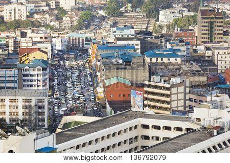 Nairobi Business District, Kenya, Editorial