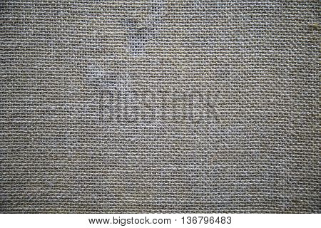 Natural sackcloth textured for retro texture background