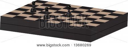 Chess desk