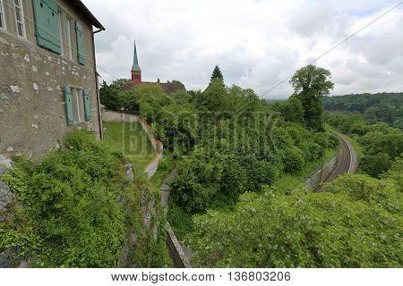 Castle Schloss Laufen, Switzerland