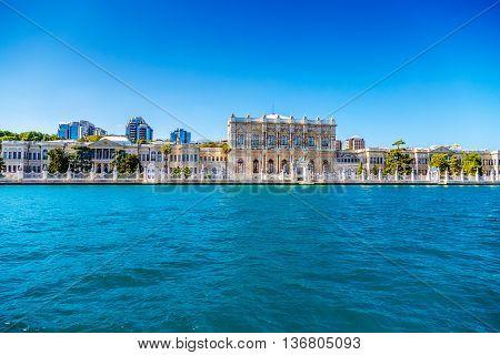 europe Turkey Bosphorus Palace sea day landscape