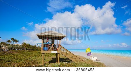 Del Ray Delray beach in Florida USA baywatch tower
