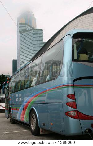 Ônibus em Honk Kong