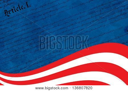 declaration of independence against focus on line